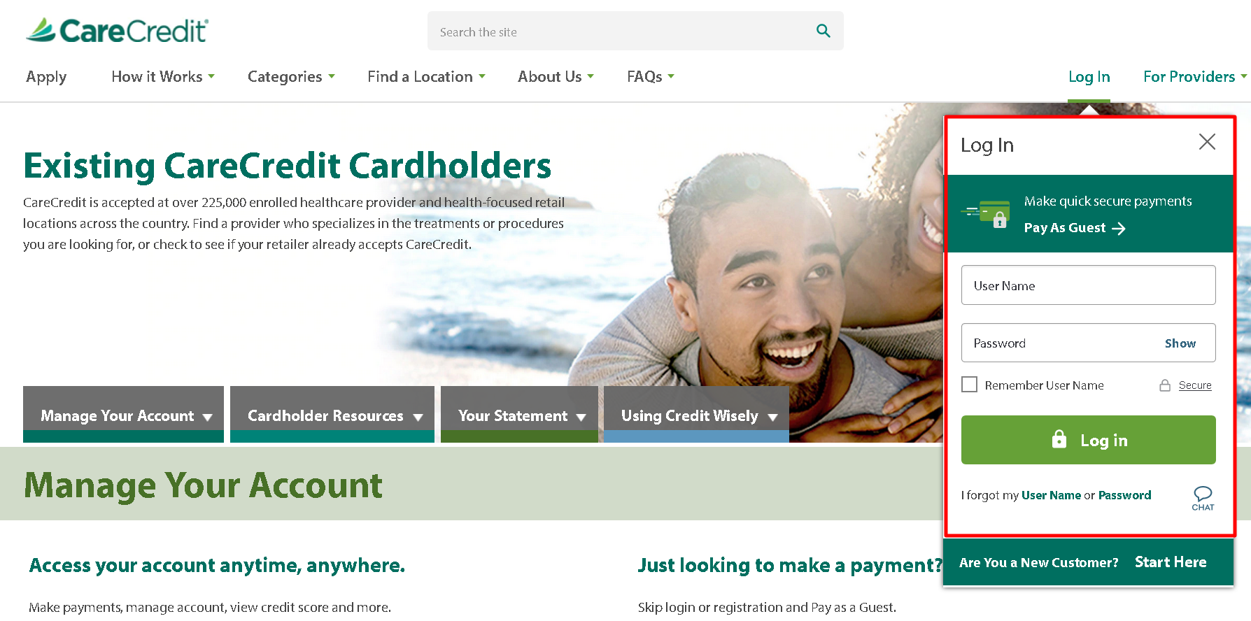 How to Pay Your CareCredit Bill