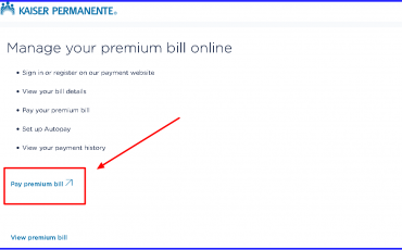 Kaiser Foundation Health Plan Bill Payment 1