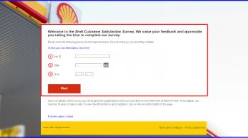 Shell United Kingdom Customer Satisfaction Survey